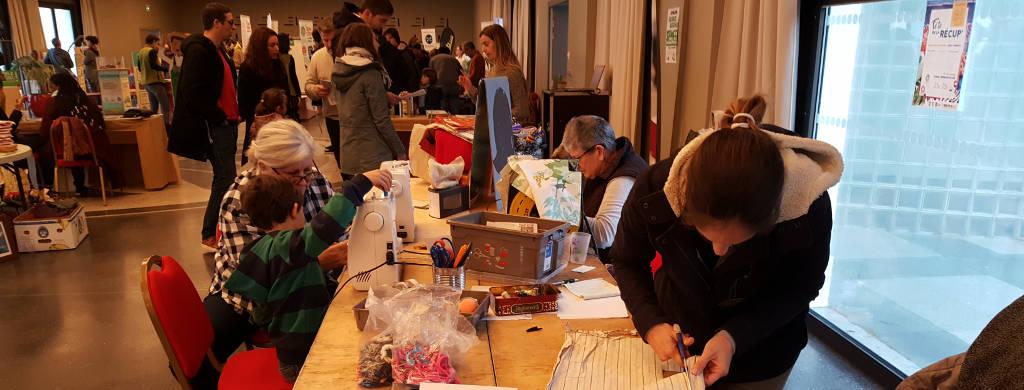 6 atelier couture à l_événement Devenons ZZ (zéro déchet) à Anglet en novembre 2019